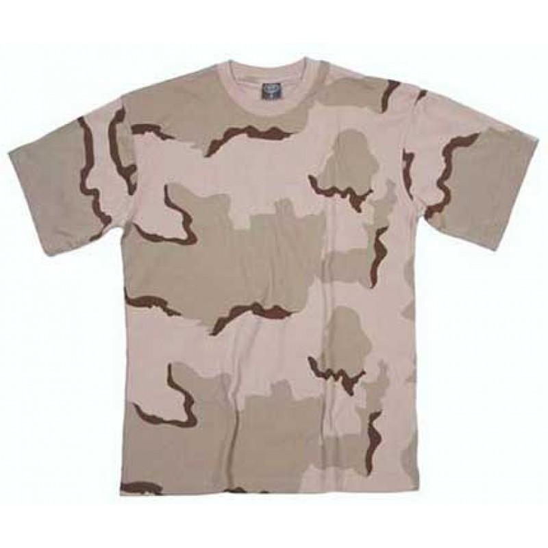 """Армейская футболка (""""трёхцветный пустынный"""")"""