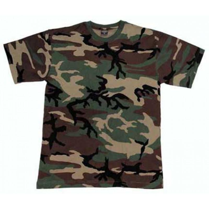 "Армейская футболка США (""вудланд"")"