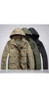 Городская куртка 726 (6 карманов) зима