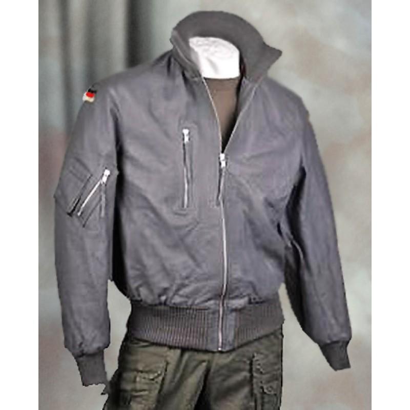 Кожаная куртка пилота бундесвер (бомбер)