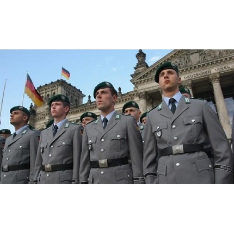 Ремень кожаный BW (Германия)