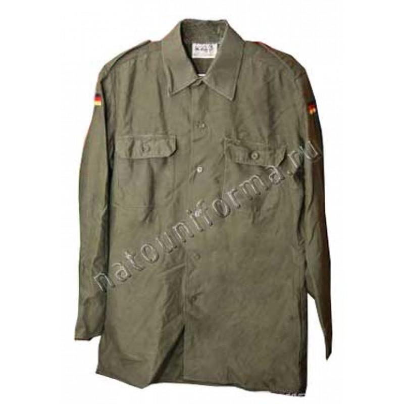 "Армейская рубашка бундесвер (""фельдблузе"") (Германия)"